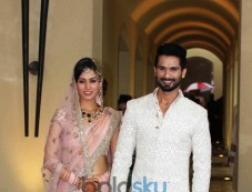 Shahid Kapoor Weds Meera Rajput In New Delhi Photos