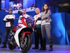 Akshay Kumar And Taapsee Pannu At Launch Of Honda CBR 650 Photos