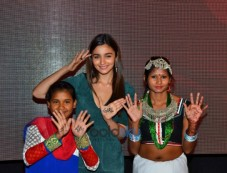 Alia Bhatt At Girl Rising Media Meet Photos
