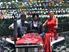 Amy Jackson At Singh Is Bling Trailer Launch Photos