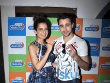 Imran And Kangna Promote Katti Batti On Radiocity Photos