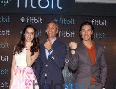 Shraddha Kapoor And Tiger Shroff At Launch Of Fitbit India Photos