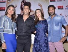 Akshay Kumar, Lara Dutta & Amy Jackson At Promotion Of Singh is Bling Photos
