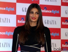 Athiya Shetty At Reliance Digital To Launch Cover Of Grazia Photos
