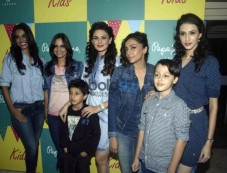 Celebs At Pepe Jeans Kidwear Launch Photos