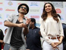 Ranveer Singh & Deepika Padukone Unveil The 'Gajanana' Song Photos