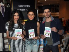 Sooraj And Athiya Grace Yasmin Karachiwala Book Reading Session Photos