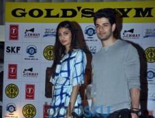 Sooraj Pancholi & Athiya Shetty Promote 'Hero' At Gold's Gym Photos