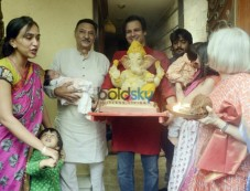 Vivek Oberoi's Ganesha Celebrations Photos