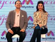 Deepika Padukone At Launch Of Myntra Apparel Brand Photos
