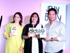 Sachin Tendulkar Launches Dr Aparna Santhanam Book Jelly Belly Photos