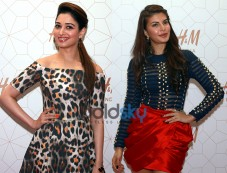 Tamannaah Bhatia & Jacqueline Fernandez At H&M India Opening Party Photos