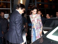 Amitabh Bachchan, Deepika Padukone And Sonakshi Sinha At Sony Tv Party Photos