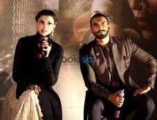 Launch Of Bajirao Mastani Trailer With Ranveer And Deepika Photos