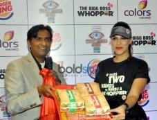 Neha Dhupia Launches Big Boss Whopper Photos