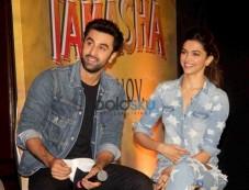 Ranbir And Deepika During The Promotion Of Film Tamasha Photos