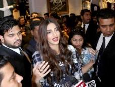 Sonam Kapoor At Launch Of Aerostaple Store Photos