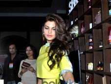 Jacqueline Fernandez At The Launch Of The Bodyshop New Range Photos