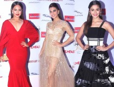 Shah Rukh, Sonam, Sonakshi & Others Grace The 'Filmfare Glamour & Style Awards 2015' Photos