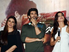 Aditya Roy, Katrina Kaif & Tabu At The Trailer Launch Of 'Fitoor' Photos