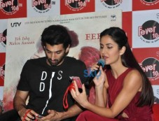 Aditya Roy And Katrina Kaif Promote 'Fitoor' At Fever 104 FM Photos