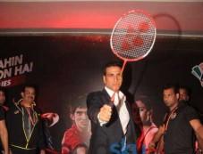 Akshay Kumar With Mumbai Rockets At The Premier Badminton League Photos