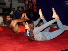Baba Ramdev And Shilpa Shettys Epic Yoga Session Together Photos