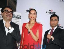 Deepika Padukone At Launch Of Tissot Watch Store Photos