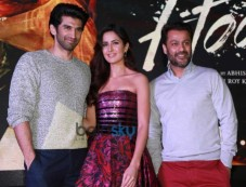 Katrina Kaif & Aditya Roy Kapoor Launch Pashmina Song From Fitoor Photos
