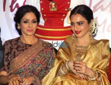 Rekha Conferred With Yash Chopra Memorial Award Photos
