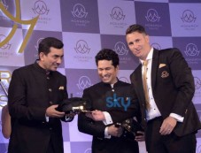 Sachin Tendulkar Unveils Monarch's Luxurious Cricket And Bollywood Cruise Photos