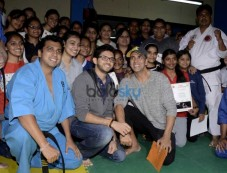 Akshay, Aditya Attend Graduation Ceremony Of Womens Self Defense Center Photos