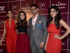 Chitrangda, Lisa & Shibani At Launch Of Diageo Scotch Gift Collection Photos