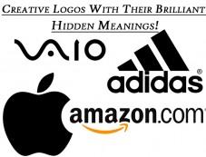 Creative Logos With Their Brilliant Hidden Meanings! Photos