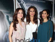 Dia Mirza, Huma Qureshi And Sophie Choudry At Special Screening Of Neerja Photos