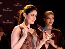 Kareena Kapoor During The Unveiling Of New Magnum Ice Cream Photos
