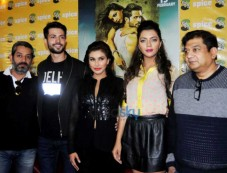 Lisa Ray, Krishna Chaturvedi And Ruhi Singh At Press Meet To Promote Ishq Forever Photos