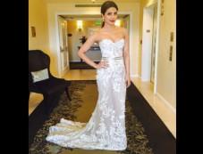 Priyanka Chopra Glowed In A Sheer White Gown At The Oscars Photos