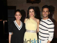 Pulkit And Yami Celebrate The Success Of Sanam Re Photos