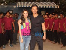 Tiger Shroff & Shraddha Kapoor At Media Interaction For Film Baaghi Photos