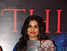 Vidya Balan At The Launch Of Novel 'Dark Things' Photos