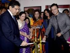 Vivek Oberoi At Tao Art Gallery 16th Anniversary Photos