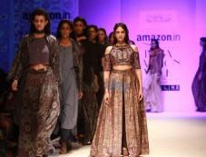 Designer Shruti Sancheti Show, Aditi Rao Hydari Walked The Ramp At AIFW 2016 Photos