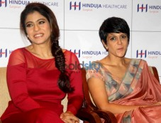 Kajol Graces An Interaction Session On Women's Wellness Through The Ages Photos