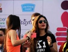 Kareena Kapoor And Arjun Kapoor During The DNA Marathon In Mumbai Photos