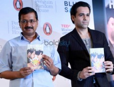 Arvind Kejriwal Launches Emraan Hashmi's The Kiss Of Life Photos