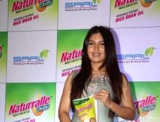 Bhumi Pednekar Launch Of Naturralle Health Rice Bran Oil Photos