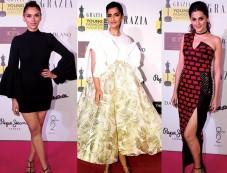 Celebs At Grazia Young Fashion Awards Photos