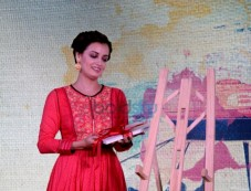 Dia Mirza At The Launch Of Ganga-The Soul Of India On Living Foods Channel Photos