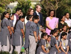 Prince William, Wife Kate Pay Respect To Gandhi In India Photos